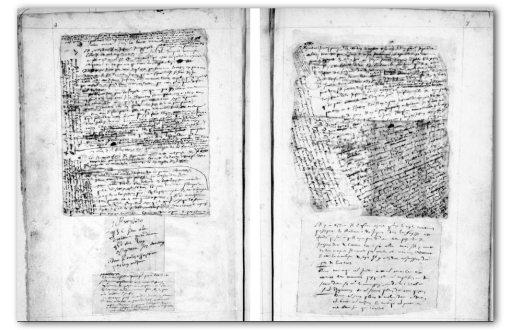 manuscrit des Pensées de Pascal (BN)