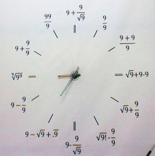 horlogeMath
