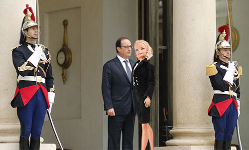 hollande-Barbie
