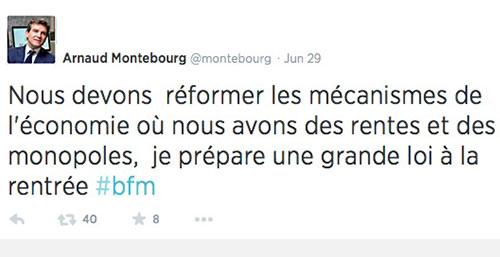Montebourg_Loi_Tweet